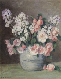 floral still life by mary alberta cleland