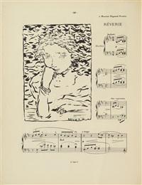 petites scènes familières pour piano (bk w/20 works) by pierre bonnard