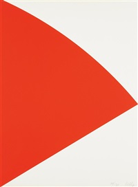 red curve (for joel) by ellsworth kelly