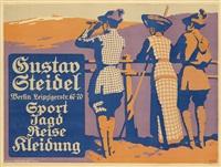 gustav steidel/sport jagd reise kleidung by martin and walter lehmann-steglitz