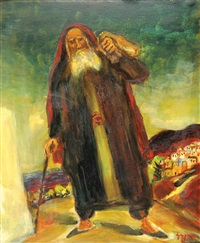 religious figure in safed by isaac frenel