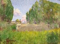villa bernardini di saltocchio, gradinata del seicento by adolfo tommasi