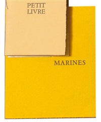 marines (bk by paul éluard w/1 work) by rose adler