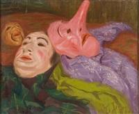 les masques de comédie by raphäel léon leguilloux