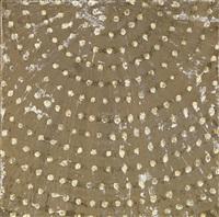 study for metallic dome by ross bleckner