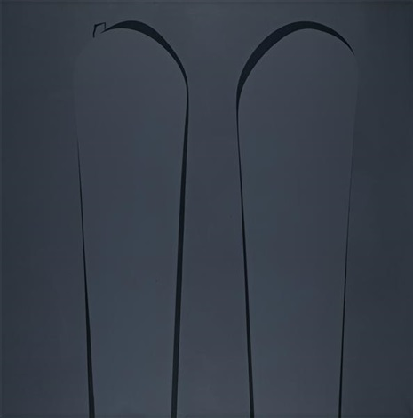 untitled dark grey ii by ian davenport