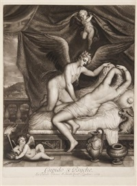 the loves of the gods (set of 8 w/frontispiece) by john smith