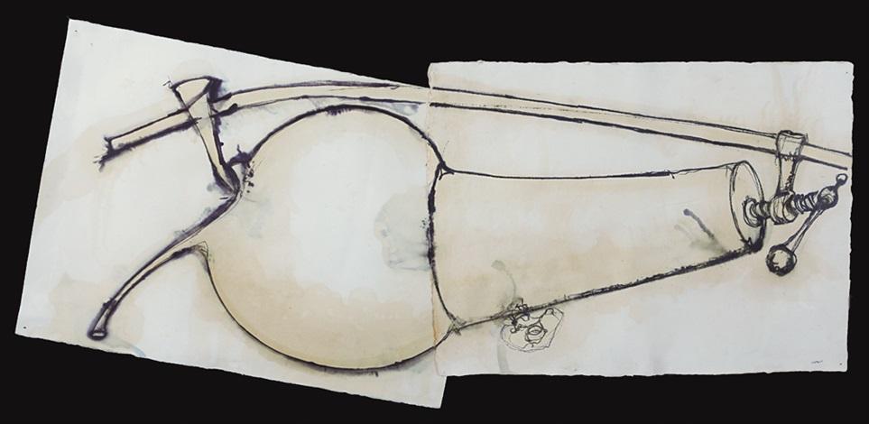 cagna e crogiuolo alambicco by gilberto zorio