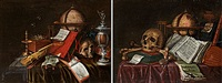 memento mori (pair) by jacob seldenslach