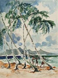 a tropical beach by yong mun sen