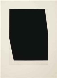 concorde i (state) and iii (state) (from the concorde series) by ellsworth kelly