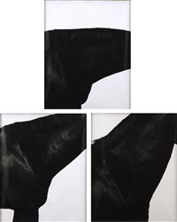 horse neck #1, #3, #4 (set of 3) by steven klein