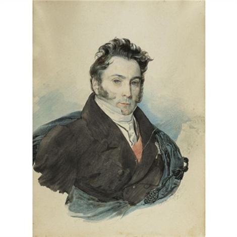 portrait of count aleksandr ribeaupierre by karl pavlovich bryullov