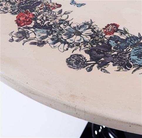 Corona di Fiori table by Piero Fornasetti on artnet