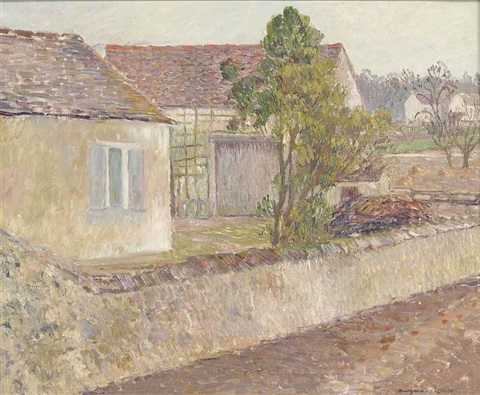 the hamlet by georges manzana pissarro
