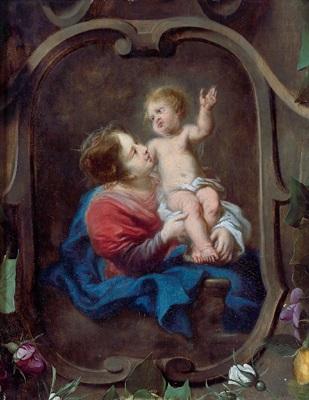 maria mit dem kind by erasmus quellinus the younger