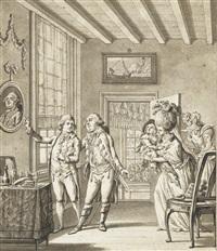 louis xvi et sa famille à varenne by francois (marie isod.) queverdo