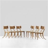 klimos chairs (set of 6) by jorgen juul-moller
