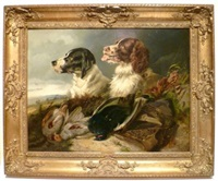 chiens de chasse by byron webb