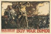 buy war bonds back him up by sir frank brangwyn