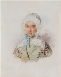 portrait of elizaveta davidovna esaulova by petr fedorovich sokolov