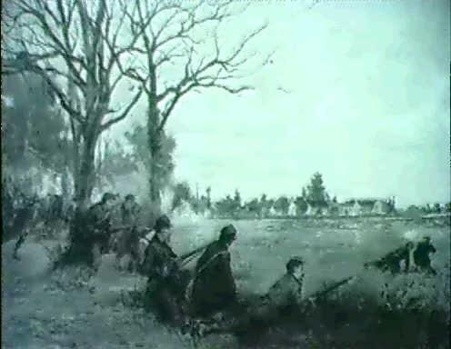 soldaten in der schlacht by henri charles e dujardin beaumetz