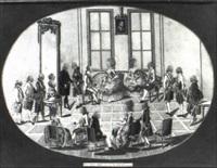 das neue jahrs fest in wienn, ano 1782 by johann hieronymus loeschenkohl