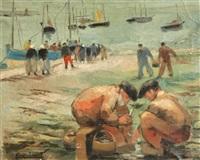 les deux pêcheurs by pierre abadie-landel