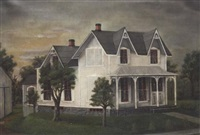 norman cottage, dannville, ny by a.s. golerick
