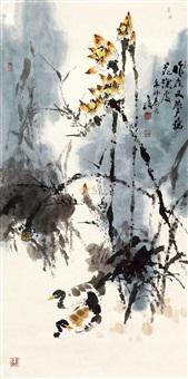 荷花 by liu shijun