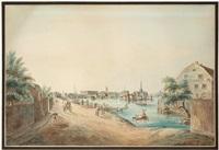 utsigt af stockholm tagen från kungsholmen (vue of stockholm from kungsholmen) by johan fredrik martin