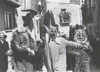 pasqua - festa dei diavoli - prizzi palermo by ferdinando scianna