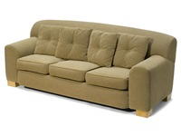 three seat sofa by roy mcmakin