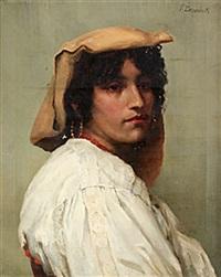 italiensk skönhet by pierre louis de coninck