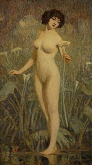 nude by clarence hinkle