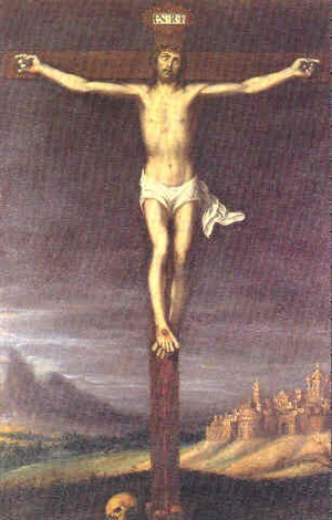 cristo crucificado by juan fray sanchez y cotan