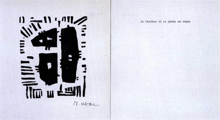 Le Château Et La Quête Du Poète Booklet By André Frénaud