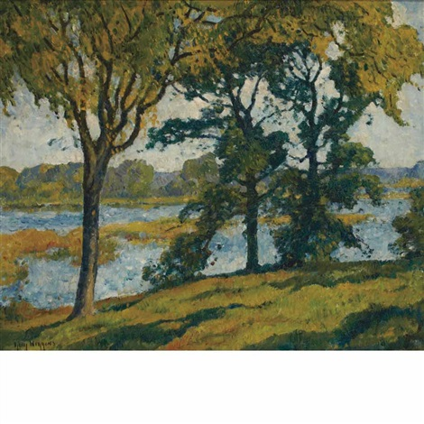 connecticut river in summer by guy carleton wiggins
