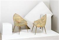 coppia di poltroncine (2 works) by arecco