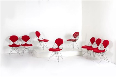 Otto sedie mod dining by charles and ray eames on artnet