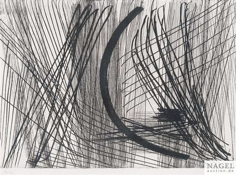 artwork 23 by hans hartung