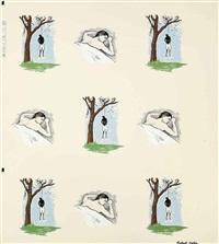 sleeping man/hanging man by robert gober