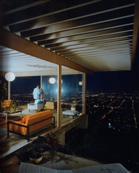 case study house # 22, los angeles, california by julius shulman