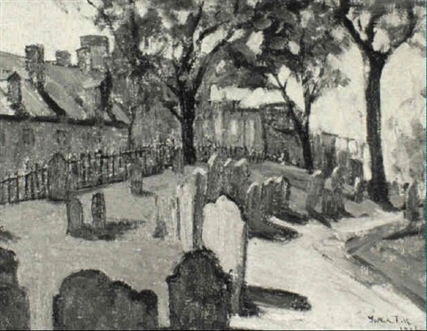 copps hill by gertrude fiske