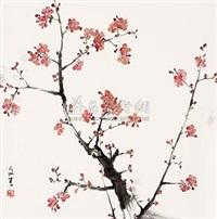 红梅 by liu wensheng