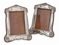 photograph frames (pair) by henry charles freeman