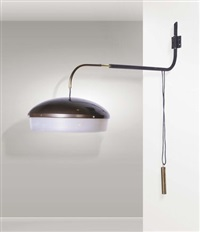 lampada da parete saliscendi by gino sarfatti
