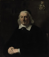 portrait of a man wearing a skullcap by ludolf de jongh
