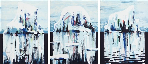 icebergs set of 3 by tomory dodge