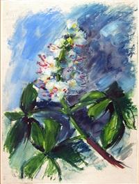 kastanienblüte by friedrich vordemberge-gildewart